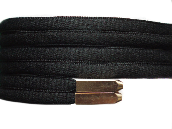 Fat Lace Yeezy Laces BlackGold Tip 120cm