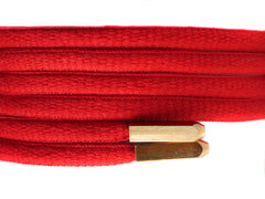 Fat Lace Yeezy Laces Red/Gold Tip- 125cm