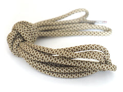 Fat Lace Wheat Rope Laces Brown/Sand - 125cm