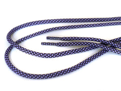 Fat Lace Alvin Rope Laces Purple/Black - 125cm