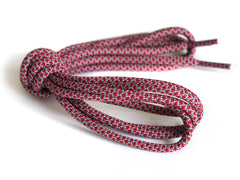 Fat Lace Optimus Prime Rope Laces Red/Grey - 125cm