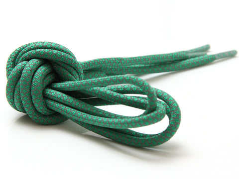 Fat Lace 3M Reflective Rope Laces Dark Green/Grey - 125cm
