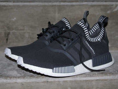 Fat Lace NMD Yeezy Pirate Black 2.0 Rope Laces Dark Grey/Black - 80cm