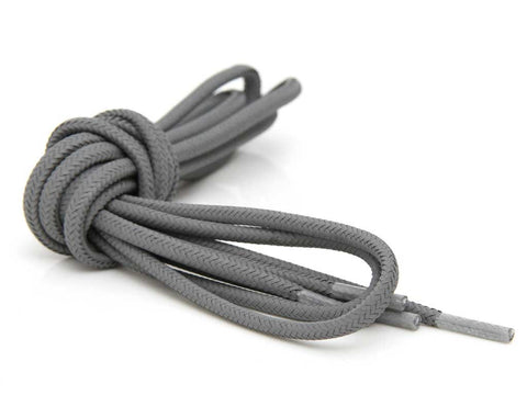 Fat Lace Full On 3M Reflective Rope Laces Grey- 125cm
