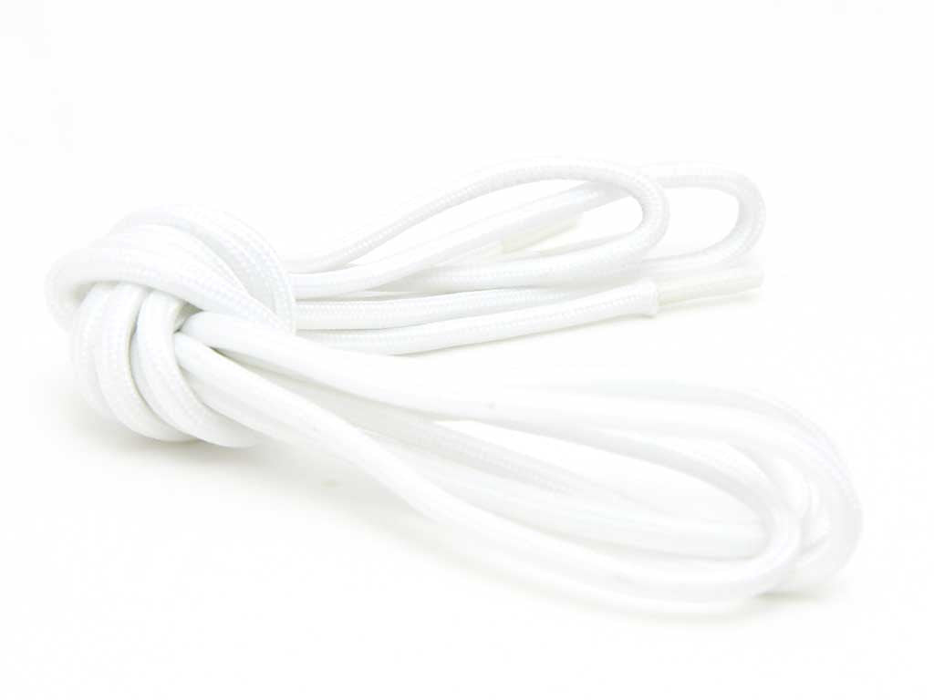 Fat Lace 'Kryptonite' Glow in the Dark Rope Laces White- 125cm