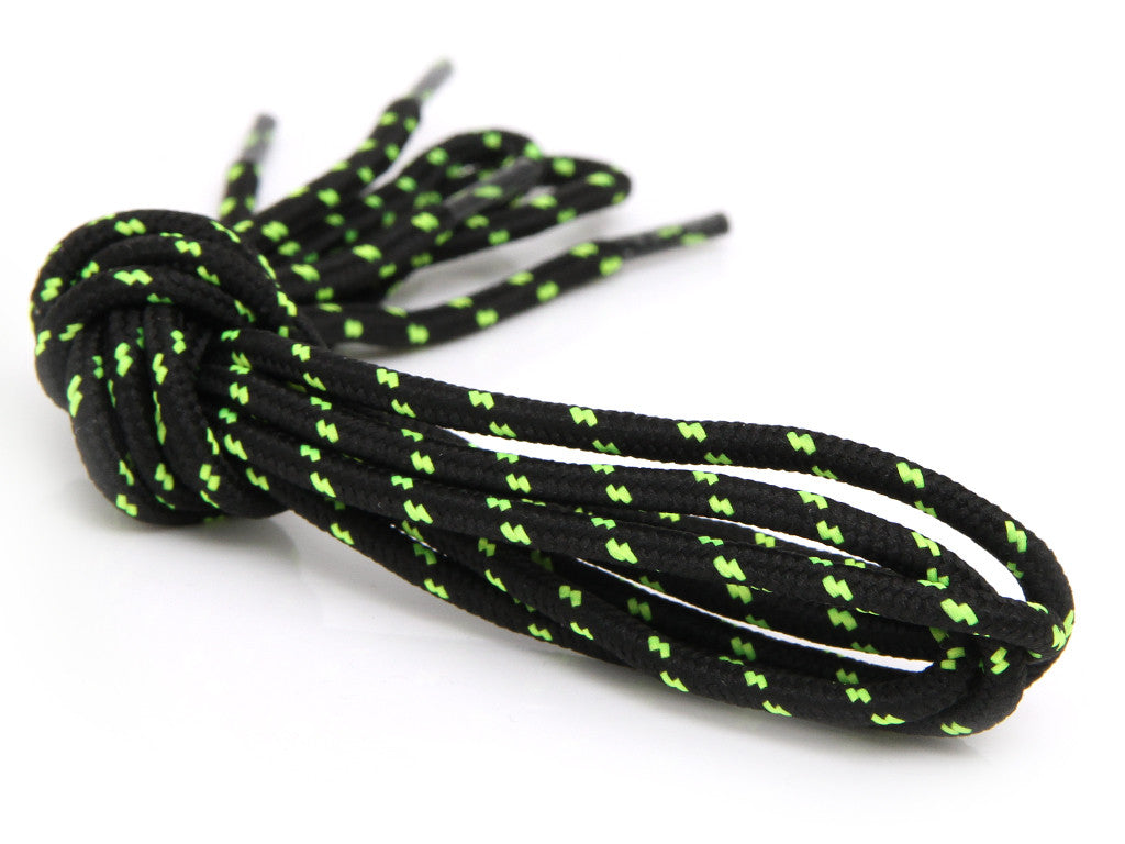 Fat Lace Hiker Rope Laces Black/Volt- 125cm