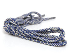 Fat Lace Military Blue Rope Laces Off White/Blue - 125cm