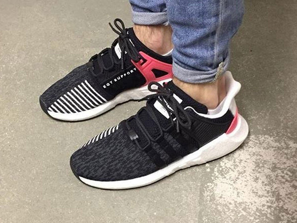 439fb994275470 Yeezy Rope Laces Black And Blue