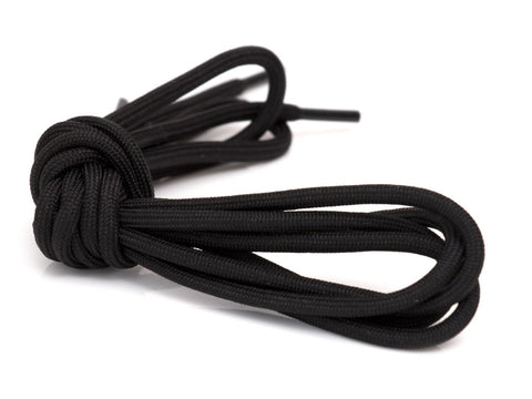 Fat Lace Triple Black Rope Laces Black- 125cm