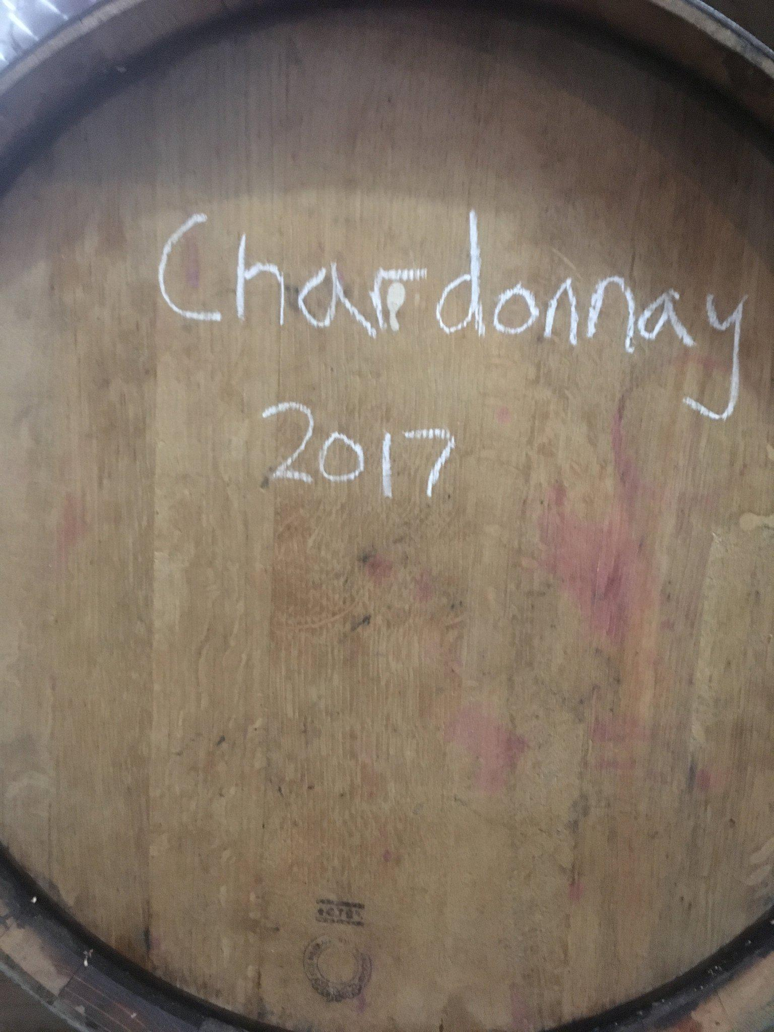 """The Cull Chardonnay"" Still in Barrel"