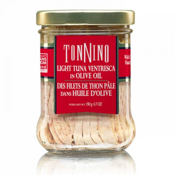 TONNINO LIGHT TUNA VENTRESCA IN OLIVE OIL