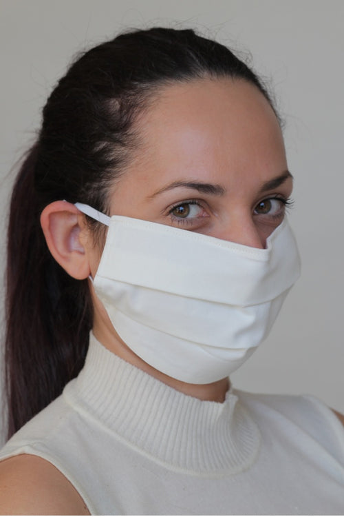 Protective Face Mask with Moisture Repelling Teflonised Coating