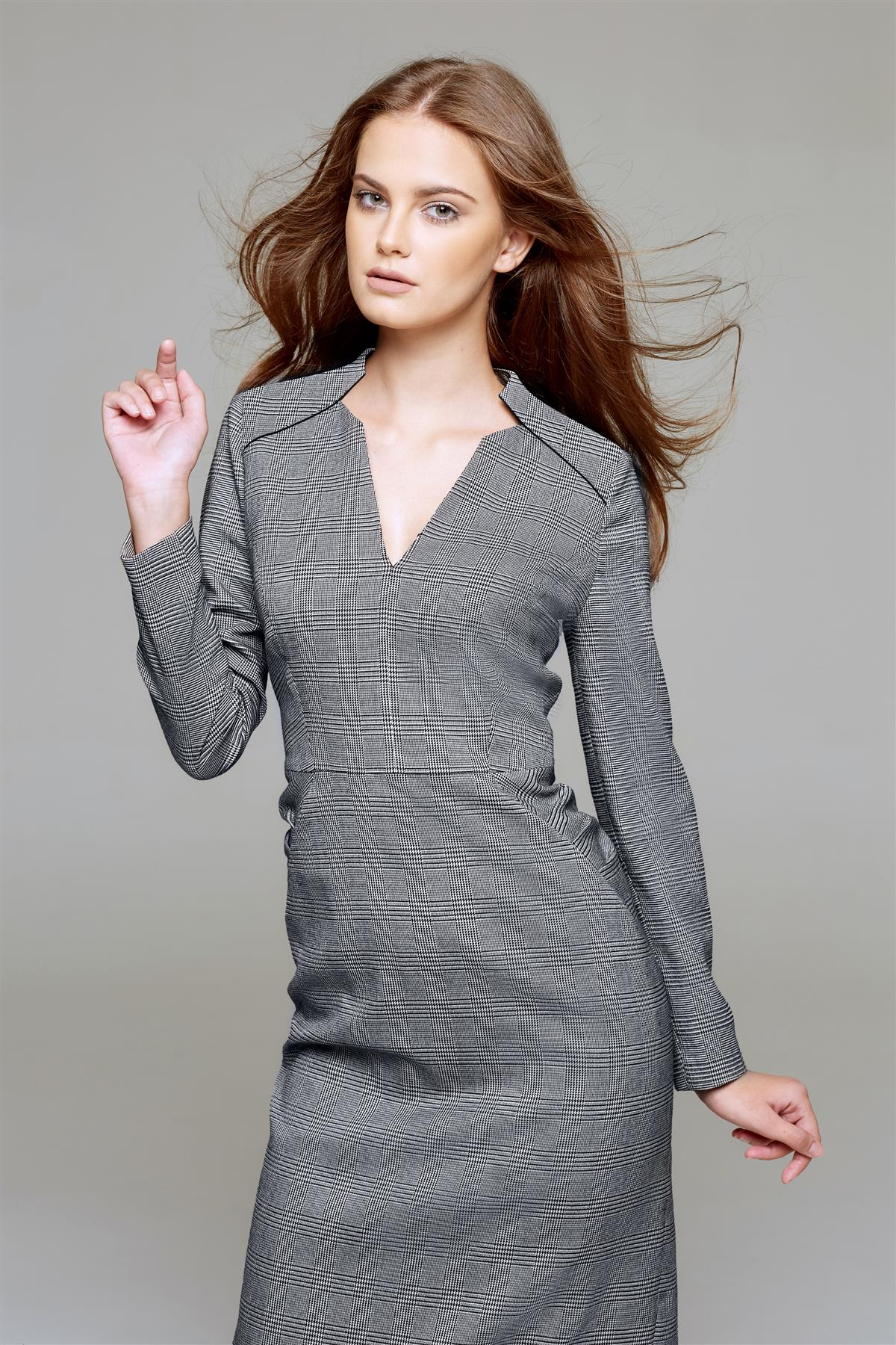 Prince of Wales Checked Dress