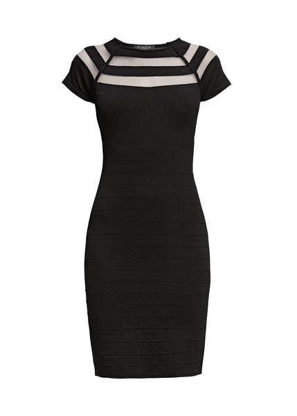 Bodycon Dress with Cut-Out Detail