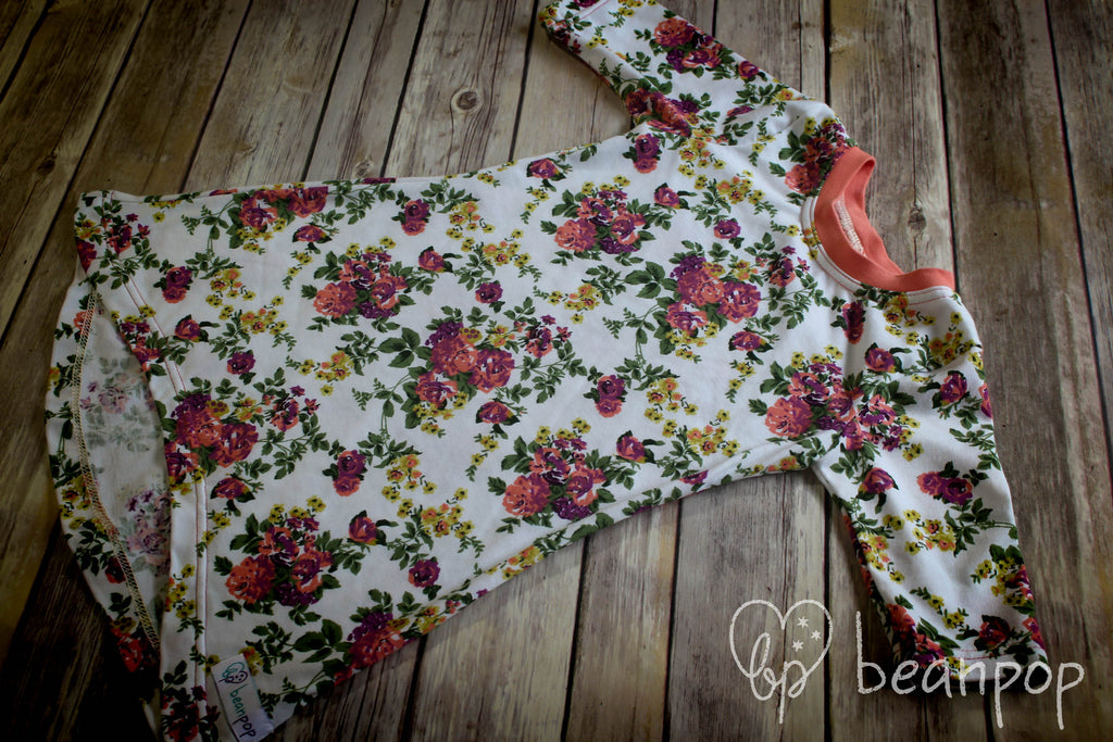 Emmaline's Garden - Delaney Dress - 10/12 - 3/4 Sleeve