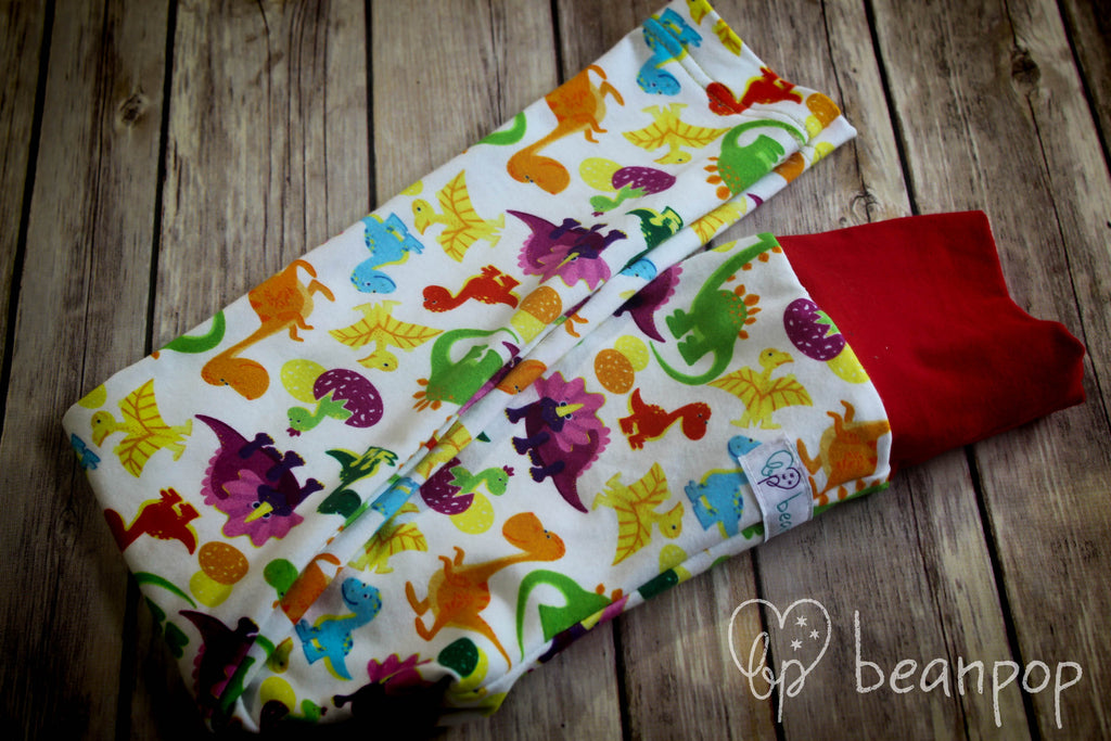 Dinos - Kid's Leggings - 3/4