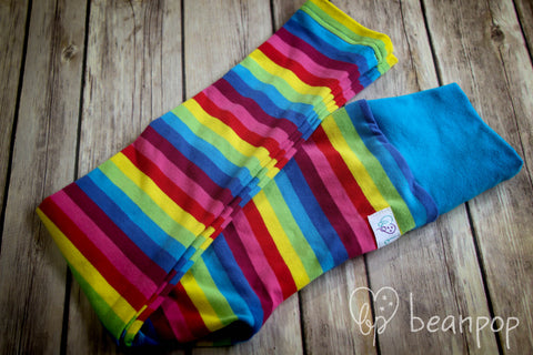Bold ROYGBIV - Kid's Leggings - 3/4