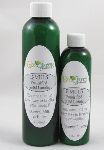 Bee Green Naturals - E-Muls Emulsified Solid Lanolin Concentrate