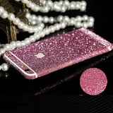 PINK iPhone Glitter Decal