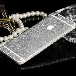 SILVER iPhone Glitter Decal