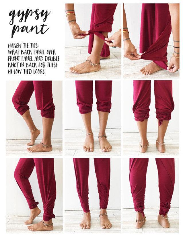 how to tie lily lotus gypsy pants