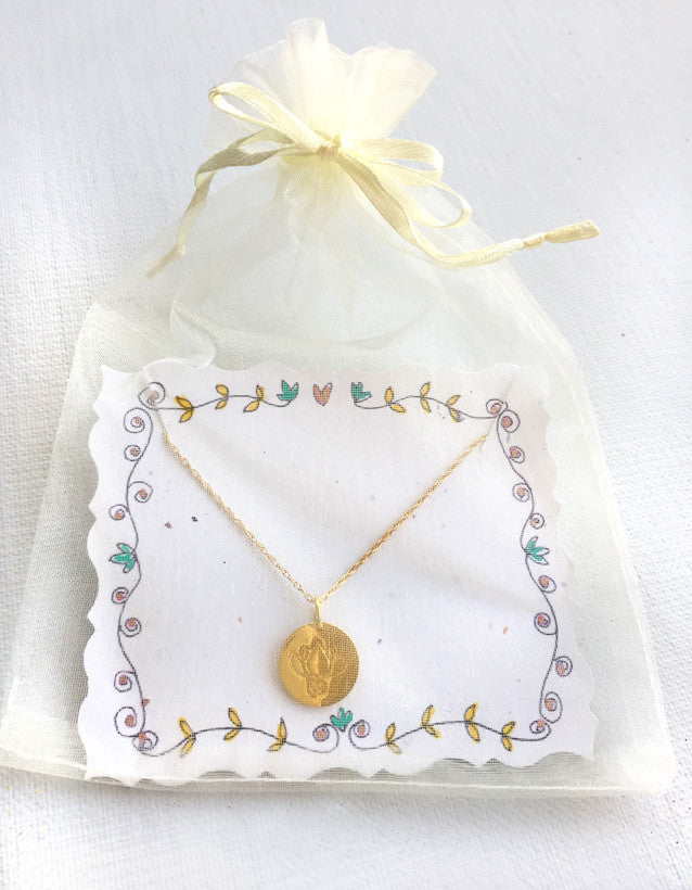 Lily Lotus Necklace
