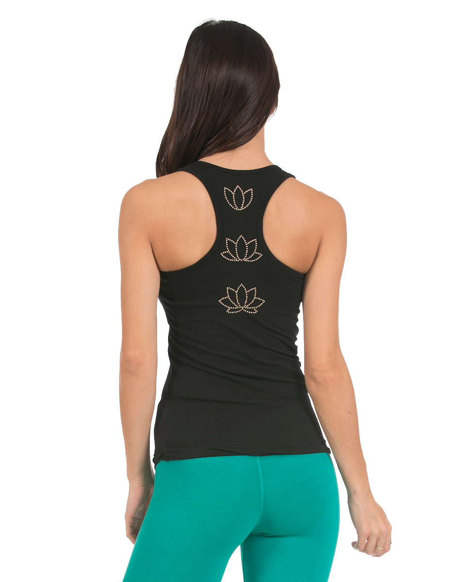 Blossoming Lotus Studio Tank
