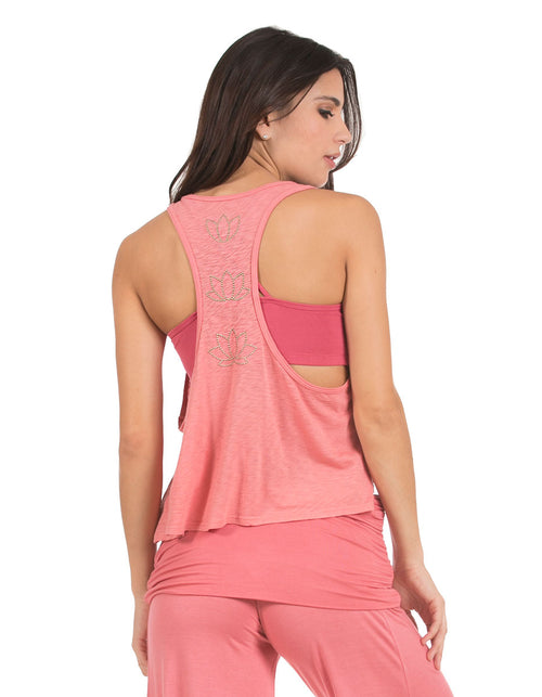 Blossoming Lotus Crop Tank