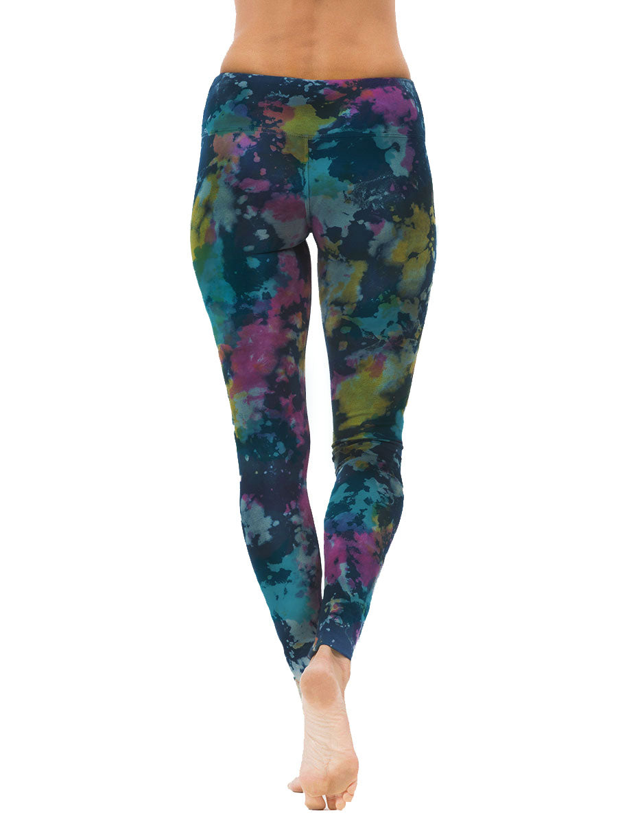 Long Leggings - Indigo Groove