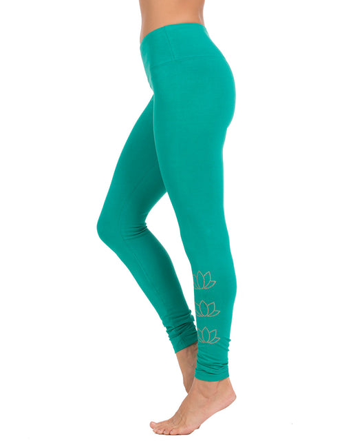 Triple Lotus Long Leggings