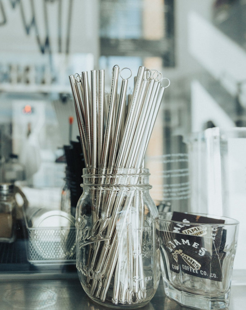 James Coffee Co. Stainless Steel Drinking Straw