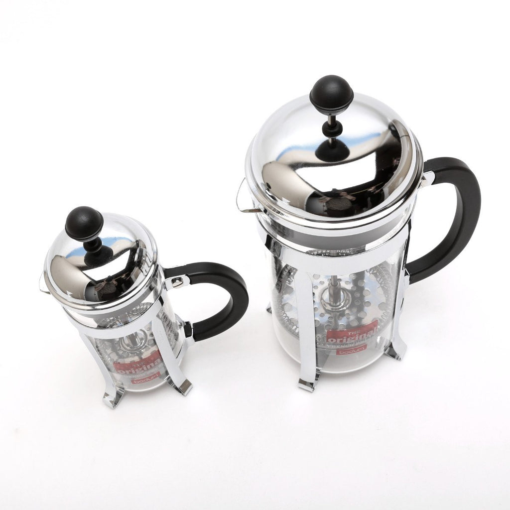 Bodum French Press Chrome 12oz and 34 oz