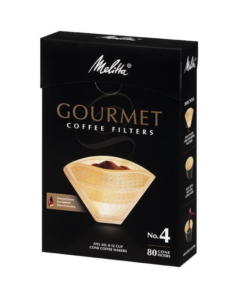 Gourmet No.4 Cone Filters