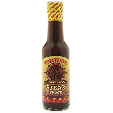 Hot Sauce Caribbean Steak Sauce by Tortuga Rum Cake