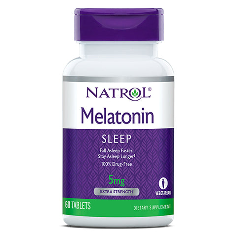 NATROL-Melatonin Tablets 5mg 60tabs