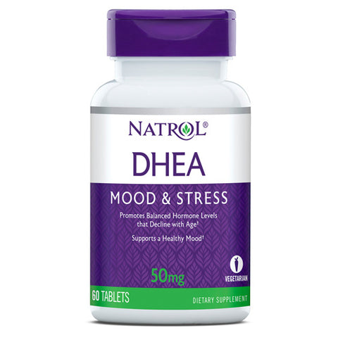 NATROL DHEA 50 mg 60 tablets