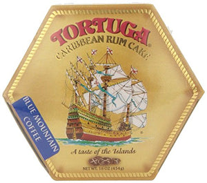 Tortuga Rum Cake Blue Mountain Coffee 16 Oz (2Pack)