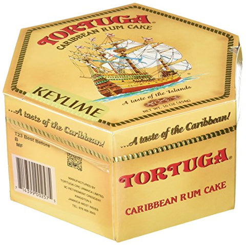 Image of Tortuga Rum Cake Key Lime 16 Oz