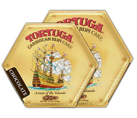 Tortuga Rum Cake Chocolate 16 Oz (2Pack)
