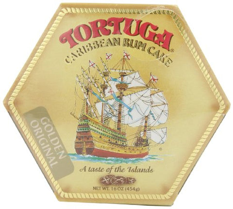 Image of Tortuga Rum Cake Golden Original Flavor 16 Oz