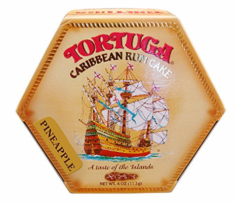 Image of Tortuga Rum Cake 4 Oz Pineapple Flavor