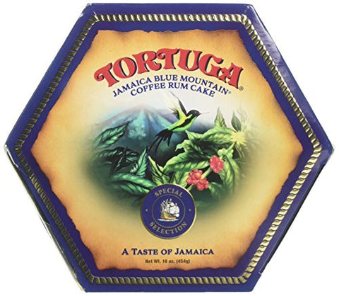 Tortuga Rum Cake Blue Mountain Coffee 16 Oz