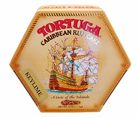 Image of Tortuga Rum Cake Key Lime Flavor 4 oz