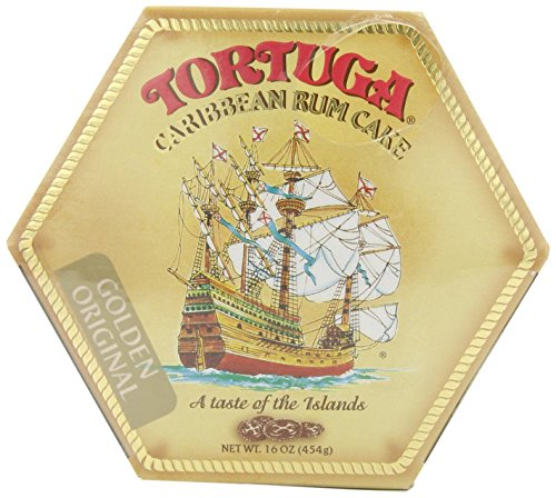 Tortuga Rum Cake Golden Original Flavor 16 Oz (2Pack)