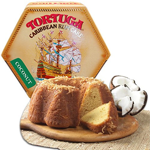 Image of Tortuga Rum Cake Coconut 4 Ounce