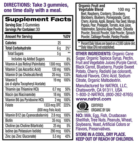 Image of NATROL-Prenatal Multi Gummies 90tabs