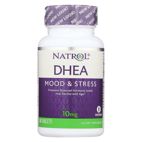 NATROL DHEA 10 mg 30 tablets