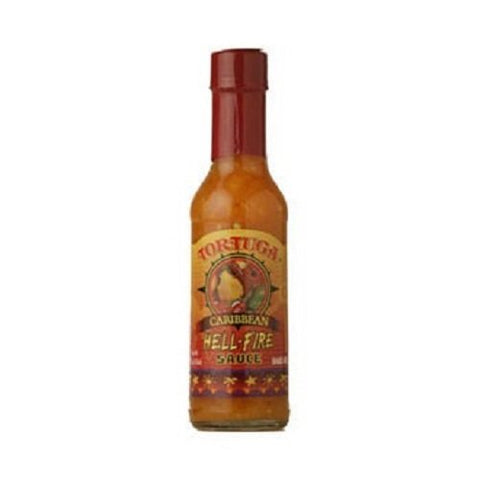Hot Sauce Hell Fire Hot Pepper Sauce Hot Sauce by Tortuga Rum Cake