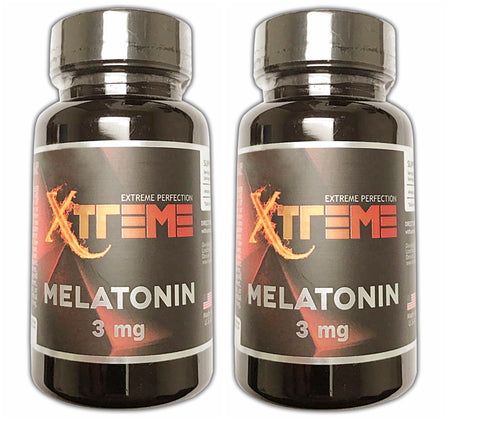Xtreme Melatonin 3mg 100 tabs (2 Pack)