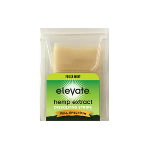 Elevate® HEMP Extract Oral Dissolvable Strips, 5mg/strip, 10 strips/pack - Ginger Peach